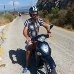 Povestiri din colorata Lefkada – partea a V-a – o zi pe scuter!