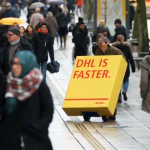 DHL owned the competition!