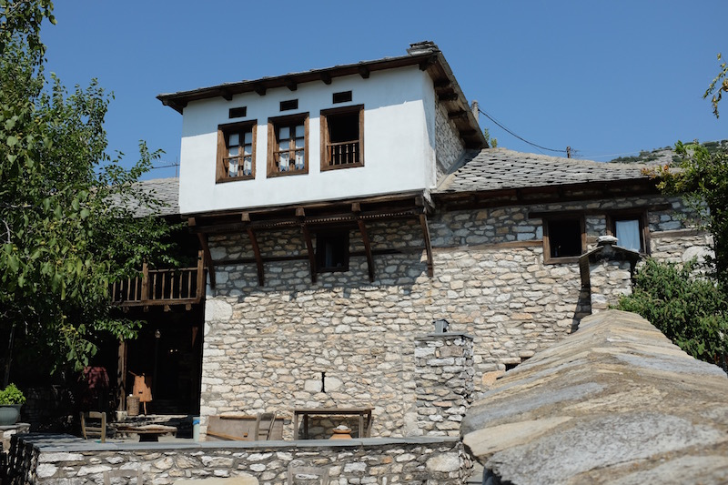 traditional thassos farm house