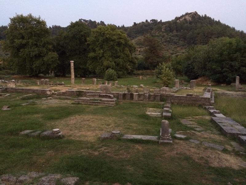thassos ruins