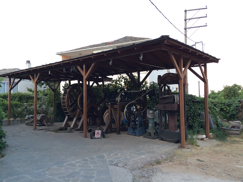 olive oil museum panagia