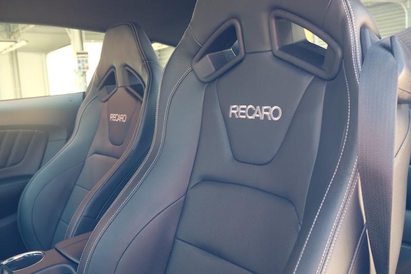 Ford Mustang Recaro seats