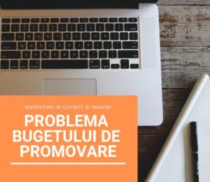 bugetul de promovare