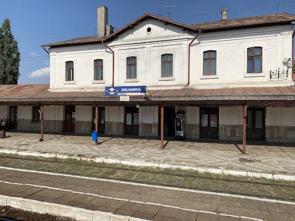 Gara Dolhasca - Romania 2019