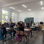O zi de școală într-o zona defavorizată