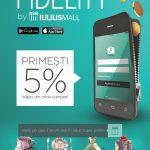 Iulius Mall Iasi lanseaza aplicatia Fidelity! (P)