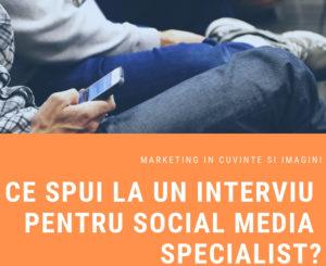 interviu social media